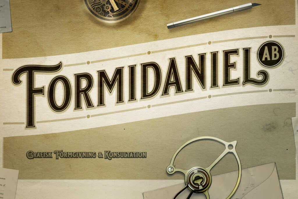 Skrivbordsbild för Formidaniel AB.