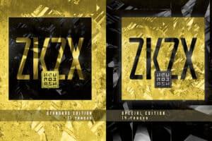 Skivomslag i gult och svart i två olika utförande åt bandet Neurobash.